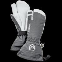 Hestra Army Leather Heli 3 Finger Grey