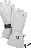 Heli Ski Female - 5 finger Pale grey/Offwhite