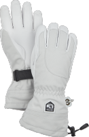 Heli Ski Female - 5 finger Pale grey/Offwhite