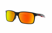 Portal X polished black - prizm ruby polarized