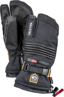 Hestra All Mountain CZone 3 Finger Black