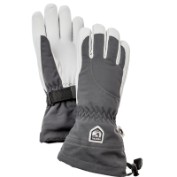 Hestra heli Ski Female- 5 Finger Grey/Offwhite