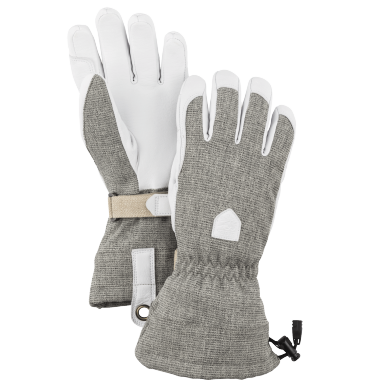 Women\'s Patrol Gauntlet 5 Finger Light grey